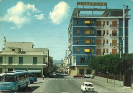 Bovalino Marina (Reggio Calabria, Calabria) Corso Umberto, Hotel Orsa, Bus And Cars - Reggio Calabria