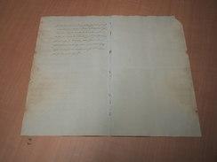 Hooglede - Notarieel Document Ivm Verkoop 't Hogemolen - Manuscritos