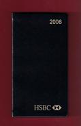 Agenda De Poche Vierge 2006. Banque HSBC France. - Livres, BD, Revues