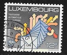 N° 1149  EUROPA  LUXEMBOURG   -  OBLITERE  -  1988 - Gebraucht