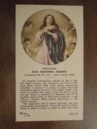 MADONNA ASSUNTA PREGHIERA Composta Da Pio XII - Anno Santo 1950 - Santini