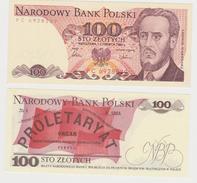 POLONIA  100 ZLOTYCH  1986  FDS - Polonia