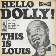 Louis Armstrong 45t. EP ALLEMAGNE *hello Dolly!* - Jazz