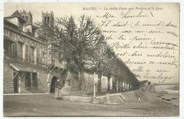 Mantes La Jolie  (78.Yvelines) La Vieille Porte Aux Prêtres Et Le Quai - Mantes La Jolie