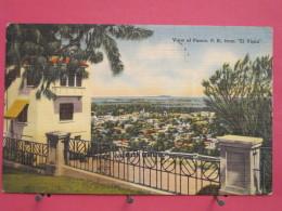 "Etats-Unis - Porto Rico - View Of Ponce From ""El Vigia"" - 1949 - Scans Recto-verso - Autres"