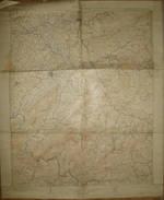 Tennessee Roan Mountain 1922 - Topography - Maßstab 1:125'000 Feet - Landkarten