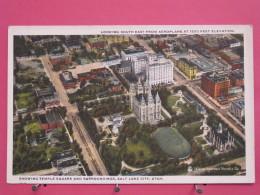 Etats-Unis - Utah - Salt Lake City - Temple Square And Surroundings - Scans Recto-verso - Salt Lake City