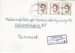 Poland - Airmail  Cover Sent To Denmark     H-896 - Airmail