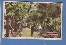 United Kingdom England Lancashire Blackpool Floral Hall Winter Gardens   ( 9 Cm X 14 Cm ) - Blackpool