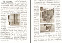 FONCAGE DES PUITS DE MINE Par La METHODE DE CONGELATION DE M.POESCH  1886 - Autres