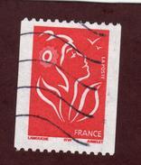 3743 De  2005  - Oblitéré - Roulette -  Marianne Lamouche - Légende: ITVF - Roulettes