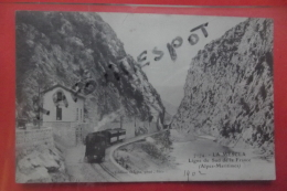 Cp La Mescla Ligne Du Sud De La France Animé N 7174 - Other Municipalities