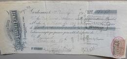 """Facture - 70 - Gouhenans - Comptoir De Vente Des """"Sels De FRANCHE COMTÉ"""" - 1893 - 1800 – 1899"""