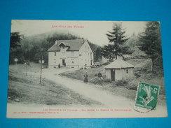 """88 ) Les Feignes Sous Vologne N° 7010 Col Entre La Bresse Et Retournemer """" Le Café Restaurant """"- Année 1909 EDIT : Weick - Gerardmer"""