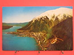 Etats-Unis - Alaska - Juneau On Gastineau Channel In  The Togass National Forest - Excellent état - Scans Recto-verso - Juneau