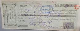 """Facture - 55 - Sorcy - JACQUINOT - Commerce De """"Fromages De Void"""" - 1893 - 1800 – 1899"""