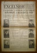 Excelsior 2878 06/10/1918 Reims Est Dégagé - L'Allemagne L'Autriche Et La Turquie Demandent à Négocier La Paix - WW1 - Other