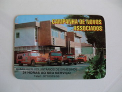 BMW Bombeiros Voluntarios De Ermesinde Portugal Portuguese Pocket Calendar 1992 - Calendari