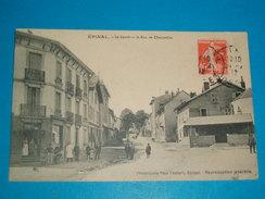 88 ) épinal - Le Lavoir Et La Rue De Chantraine  - Année 1912- EDIT : Testart - Epinal
