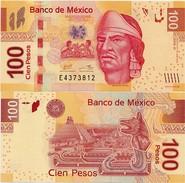 MEXICO        100 Pesos     P-124       12.6.2012    UNC  [sign. Carstens] - Mexique