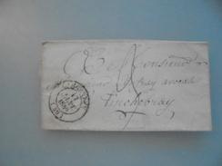 Pli De Domfront Pour Tinchebray - 1801-1848: Précurseurs XIX
