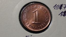 Malaysia - 1988 - 1 Sen - KM 1a - VF - Malaysia