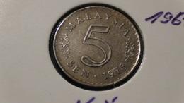 Malaysia - 1973 - 5 Sen - KM 2 - VF - Malaysia