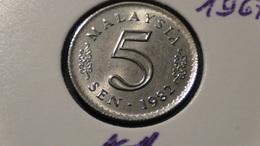 Malaysia - 1982 - 5 Sen - KM 2 - XF - Malaysia