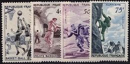 FR34 - FRANCE N° 1072/75 Série Sportive Neuf** Luxe - Ongebruikt