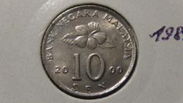 Malaysia - 2000 - 10 Sen - KM 51 - XF - Malaysia