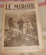 LE MIROIR N° 201. Dimanche 30 Septembre 1917.  Clemenceau Sur Le Front De Verdun, - Livres, BD, Revues