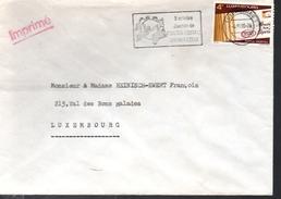 LUXEMBOURG    Lettre Upu  Poste - UPU (Union Postale Universelle)