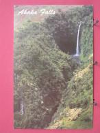 Etats-Unis - Hawaii - Akaka Falls Near Hilo - Excellent état - Scans Recto-verso - Big Island Of Hawaii