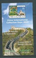 Aitutaki 2013 China Collector Expo Great Wall Miniature Sheet Of 2 Values MNH - Aitutaki