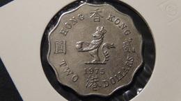 Hongkong - 1975 - 2 Dollar - KM 37 - VF - Hongkong