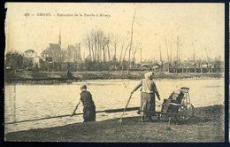 Cpa  80  Amiens Extraction De La Tourbe à Rivery     GX48 - Amiens