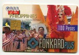TK 8522 PHILIPPINES - PLTD Chip PH-TC-03 Colour Festivals 6/30/99