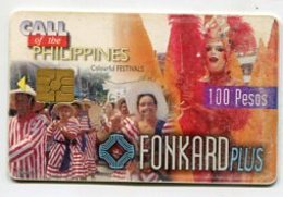 TK 8523 PHILIPPINES - PLTD Chip PH-TC-04 Colour Festivals 7/30/99