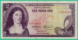 2 Pesos - Colombie - 1977 - N° 41002044 - Sup - - Colombie