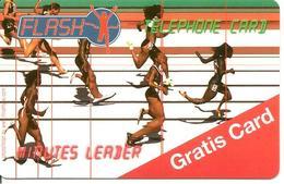 CARTE-PREPAYEE-SUISSE-FLASH-GRATIS CARD-COURSE A PIED-12/2006- -TBE- - Schweiz