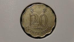 Hongkong - 1994 - 20 Cents - KM 66 - VF - Hongkong