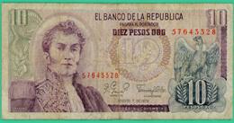 10 Pesos - Colombie - 1979 - N° 57643328 - TTB - - Colombie