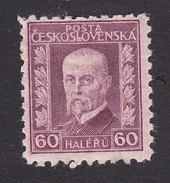 Czechoslovakia, Scott #117, Mint Hinged, President Masaryk, Issued 1926 - Czechoslovakia