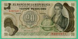 20 Pesos - Colombie - 1979 - N° 84973871 - TTB - - Colombie