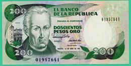 200 Pesos - Colombie - 1991 - N°  01957641 - Sup - - Colombie