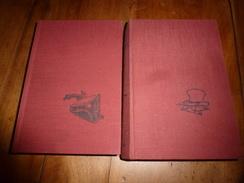 1966 :Lot De 2 Livres Par Alexandre Dumas ---->(couvertures Toilées) Le Chevalier D'Harmental , Les Compagnons De Jéhu - Books, Magazines, Comics