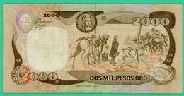 2000 Pesos - Colombie - 1990 - N°  83909616 - Sup - - Colombie