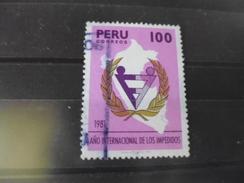 PEROU YVERT N°703 - Peru