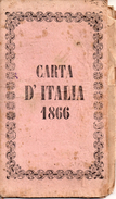 Carta D'Italia 1866 - Geographical Maps