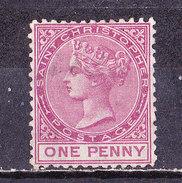 St. Cristopher 1870 -N° 2 -1 P Nuovo MLH-Leggera Piega Sul Retro - St.Cristopher-Nevis & Anguilla (...-1980)